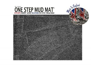 One Step Mud Dog Door Mat