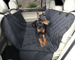 Dog Seat Cover with Hammock