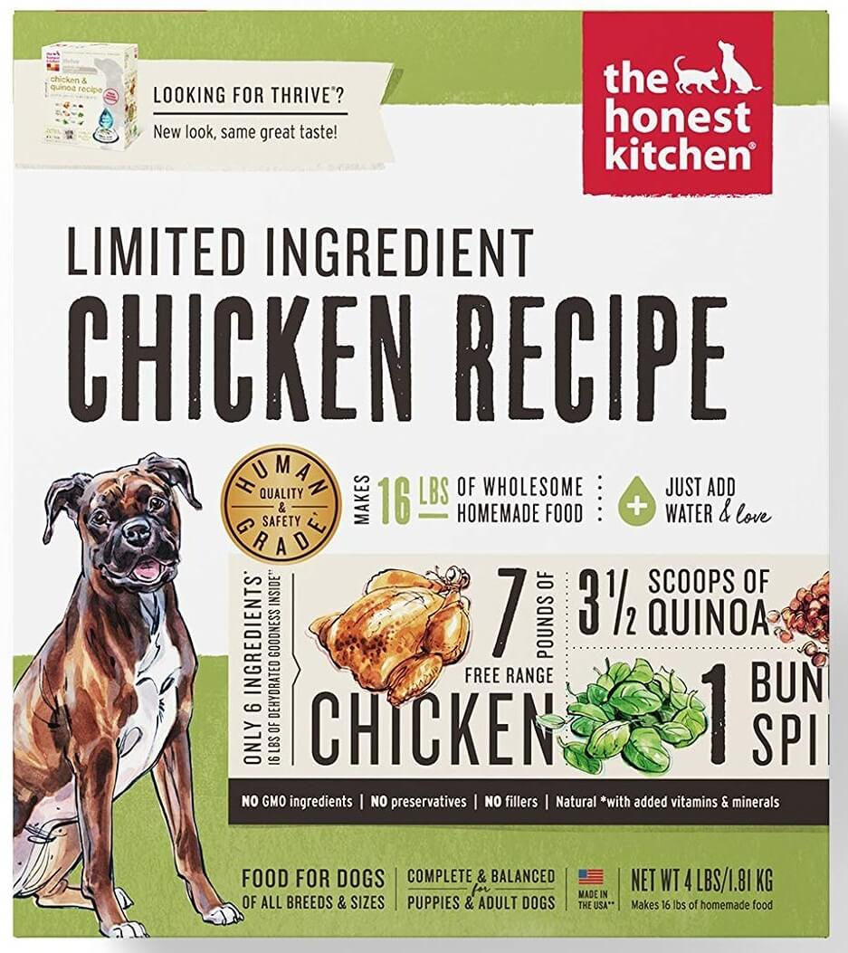 The Honest Kitchen Limited Dog Food