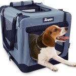 JESPET Soft Pet Crates Kennel